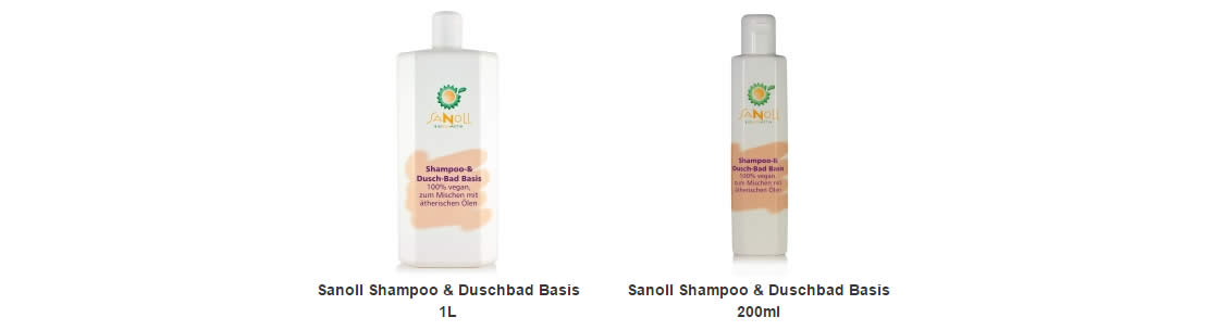 Sanoll Shampoo & Duschbad Basis Neutral