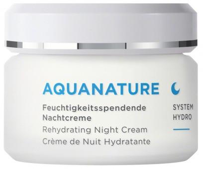 ANNEMARIE BÖRLIND Aquanature Feuchtigkeitsspendende Nachtcreme
