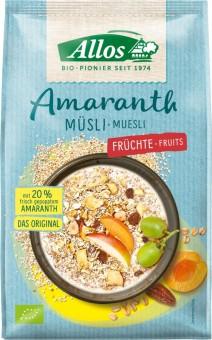 Allos Amaranth Früchte Müsli bio 375g