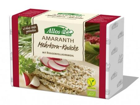 Allos Amaranth-Multigrain-Knäcke bio