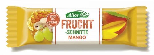 Allos Fruchtschnitte Mango bio