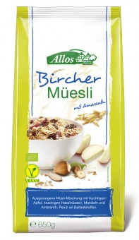 Allos Hof-Müsli Bircher bio 650g