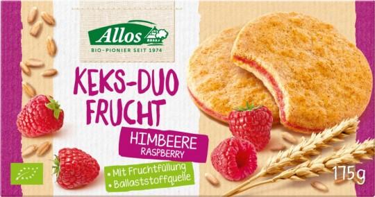 Allos Keks-Duo Frucht Himbeere bio