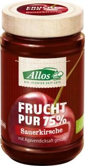 Allos Sauerkirsche Frucht Pur bio