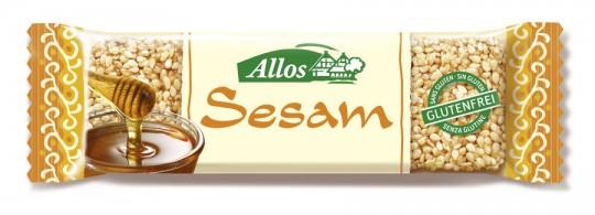 Allos Sesam-Krokant Riegel bio