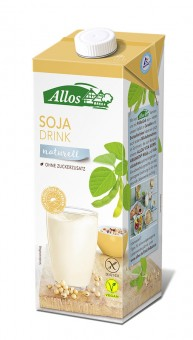 Allos Soja Drink naturell bio