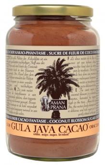 Amanprana Gula Java Kokosblüten Zucker Kakao-Phantasie 1,3kg bio