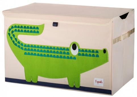 3 Sprouts Aufbewahrungskiste Krokodil
