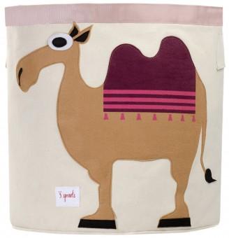 3 Sprouts Aufbewahrungskorb Kamel
