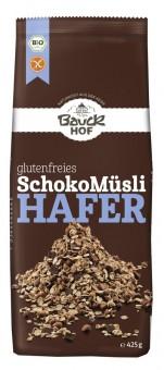 Bauckhof Hafer Müsli Schoko glutenfrei bio