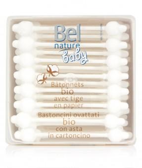 Bel Nature Bio-Baby-Wattestäbchen (56St)