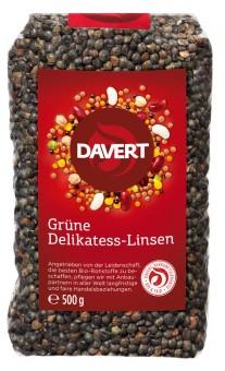 Davert Grüne Delikatess-Linsen bio