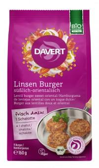 Davert Linsen Burger bio