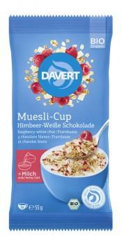 Davert Muesli-Cup Himbeer bio