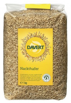 Davert Nackthafer bio 1kg