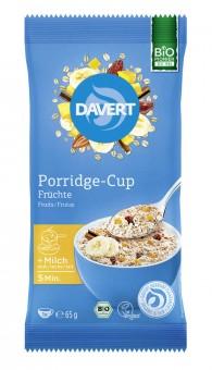 Davert Porridge-Cup Früchte bio