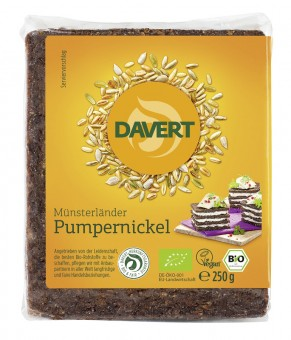 Davert Pumpernickel bio