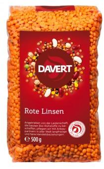 Davert Rote Linsen bio
