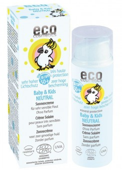 Eco Cosmetics Baby & Kids Neutral Sonnencreme LSF50+