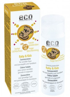 Eco Cosmetics Baby & Kids Sonnencreme LSF45