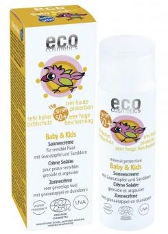 Eco Cosmetics Baby & Kids Sonnencreme LSF50+