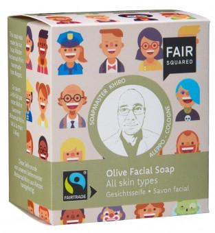 Fair Squared Gesichtsseife Olive