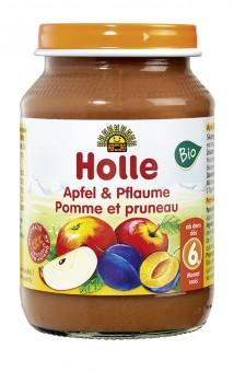 Holle Apfel & Pflaume bio