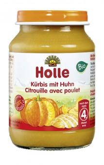 Holle Kürbis mit Huhn bio