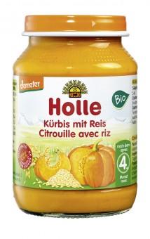 Holle Kürbis mit Reis bio
