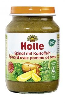 Holle Spinat mit Kartoffeln bio
