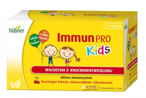 Hübner ImmunPRO Kids (15 Sticks)