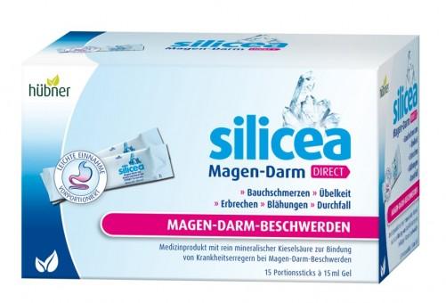 Hübner silicea Magen-Darm Direct 15 Sticks