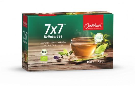 Jentschura 7x7 KräuterTee bio 100 Filterbeutel a 1,75g