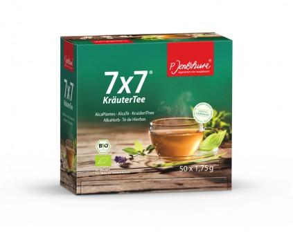Jentschura 7x7 KräuterTee bio 50 Filterbeutel a 1,75g