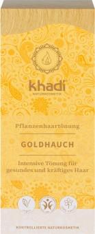 Khadi Haarfarbe Goldhauch