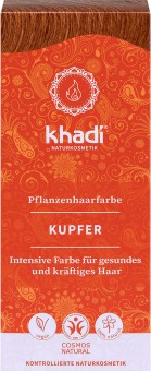 Khadi Haarfarbe Kupfer