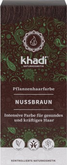 Khadi Haarfarbe Natürliches Nussbraun