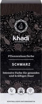Khadi Haarfarbe Schwarz