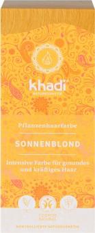 Khadi Haarfarbe Sonnenblond