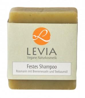 LEVIA Festes Shampoo Rosmarin mit Brennnessel & Teebaumöl