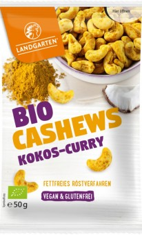 Landgarten Cashews Kokos-Curry bio
