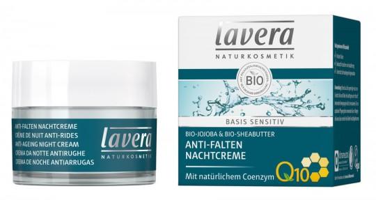 Lavera Basis Sensitiv Nachtcreme Q10