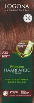 Logona Pflanzenhaarfarbe Creme maronenbraun