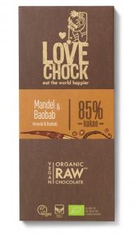 Lovechock Tafel Mandel & Baobab bio