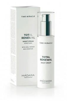 MADARA Time Miracle Total Renewal Nachtcreme