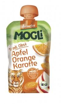 Mogli Moothie Apfel-Orange-Karotte bio