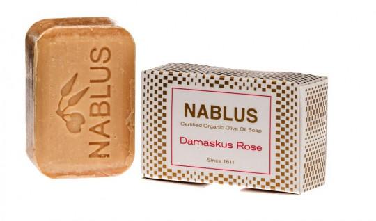 Nablus Olivenseife Damaskus Rose