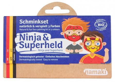 Namaki Schminkset Ninja & Superheld