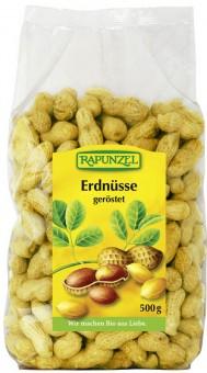 Rapunzel Erdnüsse in Schale geröstet 500g bio