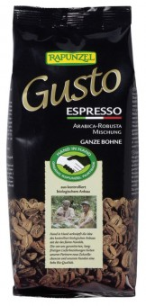 Rapunzel Gusto Espresso allitaliana ganze Bohne HIH bio 250g